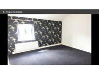 3.7m x 3.9m dark grey bedroom carpet
