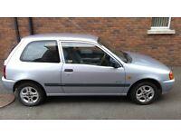 For sale Toyota Starlet 1999, 1.3 petrol.