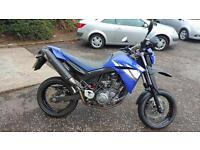 YAMAHA XT 660 X Supermoto A Very Nice Clean Bike Low Miles (blue) 2007