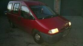 1999 citroen dispatch 1.9D van with built in ramp
