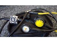 Scubapro a700 regulator mk25 din scubapro r095 octopus diving regulators