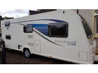 BAILEY PEGASUS GT65 ANCONA 6 BERTH FIXED BUNKS,AWNING,EXTRAS
