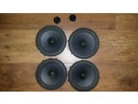 Mitsubishi Grandis Original Door Speakers Set