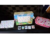 3DS XL - Animal Crossing Special Edition Console + Games
