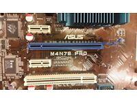 AMD Athlon II X4 630 CPU, ASUS M4N78 PRO Motherboard and 8GB of Kingston DDR2 RAM