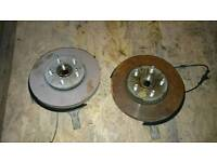 Astra Sri 2015 wheel hubs disks and calipers