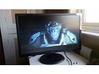Iiyama 24 inch full HD widescreen computer monitor. Built-in speakers. Ex-display. Perfect.