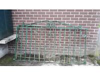 WROUGHT IRON GATES (Used)