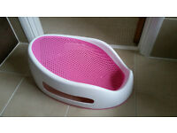 Angelcare Soft Touch Bath Support - Pink