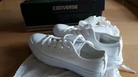 Genuine Converse trainers, brand new and boxed UK 3