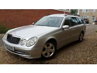 MERCEDES E320 CDI AVARTGARDE ESTATE 2003 ESTATE NEW SHAPE DIESEL FULL SERVICE HISTORY IMMACULATE