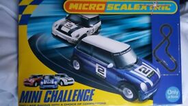 Micro Scalextric Mini Challenge Excellent Condition