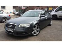 Audi A6 Saloon 2.0 TDI S Line 4dr LOW MILEAGE 6 SPEED MANUAL FULLY LOADED AND FULL HISTORY