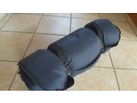 Compact Inflatable Camping Mattress with Foam core - £15