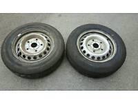 2 Ford custom wheels