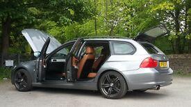 BMW e91 318 touring...58 reg FACELIFT estate