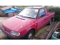 2000 Skoda Pickup (Felicia/ VW Caddy) breaking for spares/ repair