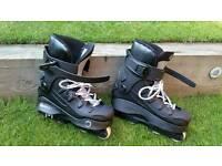 Anarchy revolution in-line skates.