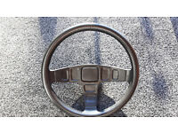 Sporty vintage car steering wheel in excellent condition - BARGAIN