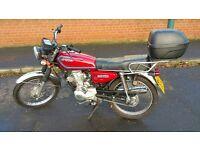 Hongdou Shenda 125cc Motorcycle - This is a Honda CG125 Lookalike