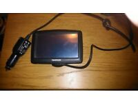 TomTom Satllite Navigation witch charger for Sale