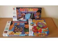 3 classic games - Battleships, Connect 4, Kerplunk