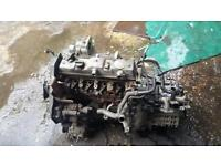 Engine for Ford Connect, 2009, has NO INJECTORS. Just block head and fuel pump