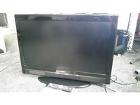 32 inch Hitachi 1080 HD TV, freeview built in