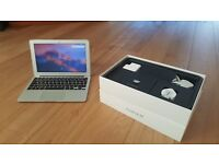 "Macbook Air 11.6"" (2015) OSX Sierra Dual Core i5 1.6GHz, 4GB, 128GB SSD, USB 3.0 AppleCare Jan 19"
