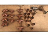 Mixture plumbing fittings