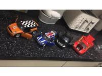 Model cars x4