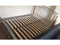 Double bed frame - Great condition, barely used