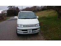 Cheap family eight seater versatile Toyota van , Good condition for year