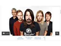 For sale are 4 genuine Foo fighter tickets for 23 June 2018