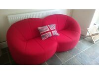 Funky Red Sofa - Ligne Roset - Cushion Included