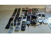 Job lot of moblie phones