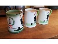 Carlton ware mugs