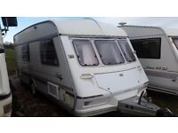 NO DAMP CARAVAN ABI JUBILEE HERALD 4 BERTH WITH FULL SIZE AWNING ALL EXTRAS