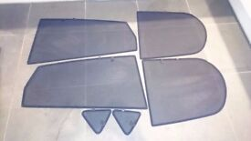 Ford Fiesta Mk5 Set of custom fit window blinds / UV privacy car shades Ford Fiesta 5 Door 2002-2008