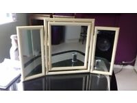 3 way dressing table mirror