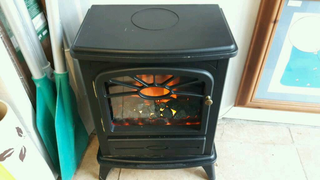 Coal Effect Electric Fire with Heater