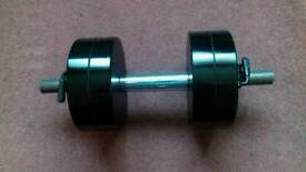 26.kg. dumbell.
