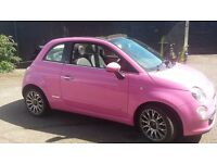 Fiat 500c, mot,d new rear tyres,cambelt,serviced,battery. Air con and blue tooth. Cat d £4200