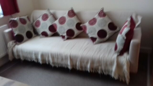 Latte Coloured Clic Clac Style Double Sofa Bed Only 6 Months Old In Somerton Somerset Gumtree