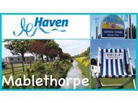 Haven Golden Sands Mablethorpe. 3 bedroomed caravan for hire