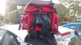 Oxford motor bike bag and rooksak