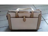 Large cream / white Accessorize tote handbag
