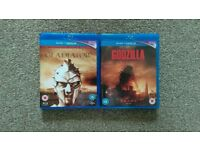 Gladiator & Godzilla Bluray