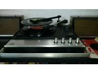 ITT 1970s stereo record player.