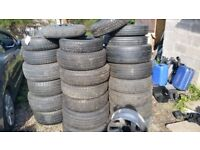 selling all different size tyres
